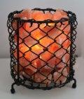 Himalayan Salt Basket Lamp